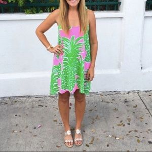 Lilly Pulitzer Monterey Dress - Pink Pineapple